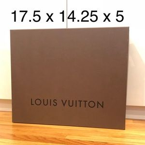 Louis Vuitton Hard Box with Lid